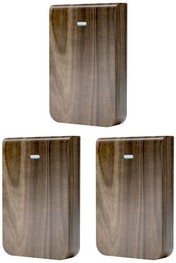 Ubiquiti Cover for UniFi In-Wall HD (Wood), pack of 3