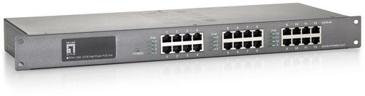 8 PORT SWITCH HUB PoE*