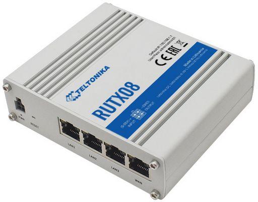 4 PORT GIGABIT ETHERNET ROUTER WITH VPN / FIREWALL - TELTONIKA RUTX08