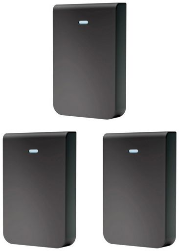 Ubiquiti Cover for UniFi In-Wall HD (Black), pack of 3