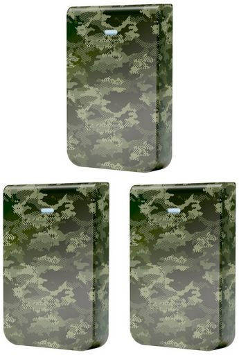 Ubiquiti Cover for UniFi In-Wall HD (Camouflage), pack of 3