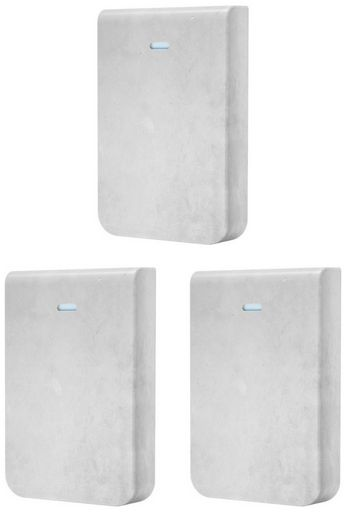 Ubiquiti Cover for UniFi In-Wall HD (Concrete), pack of 3