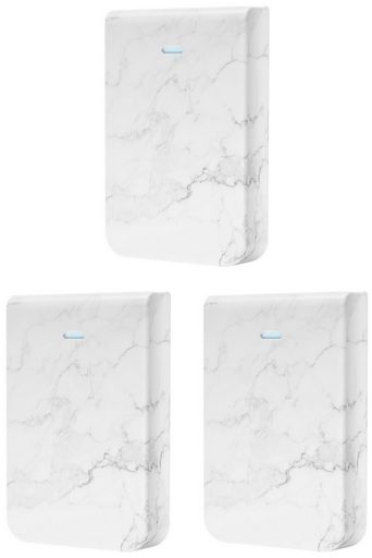 Ubiquiti Cover for UniFi In-Wall HD (Marble), pack of 3