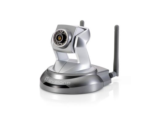 IP CAMERA PAN/TILT WIFI - LEVEL ONE