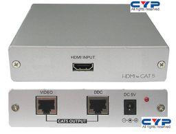 .HDMI OVER TWIN CAT5e