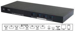 4 PORT HDMI MULTI-DISPLAY OVER ETHERNET/USB