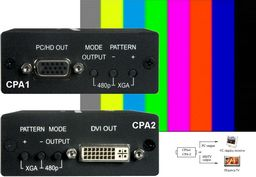 PC/HDTV PATTERN GENERATOR