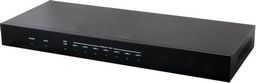 .1×8 HDMI OVER HDMI AND CAT5e/6/7 SPLITTER WITH LAN SERVING