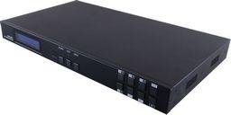 4×6 HDMI OVER HDMI AND CAT5E/6/7 MATRIX WITH 24V PoC