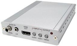 DVI / PC / HDTV / HDMI TO HDMI SCALER BOX - CYPRESS