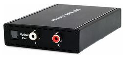 USB / OPTICAL TO OPTICAL / RCA R/L ANALOGUE CONVERTER