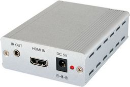 HDMI OVER SINGLE CAT5e/6/7 TRANSMITTER AND RECEIVER WITH IR