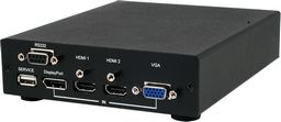 .HDMI/DISPLAYPORT/VGA TO HDMI SCALER WITH 3D