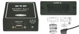 SCART-RGB TO VGA SYNC SEPARATOR - CYPRESS