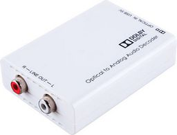 COAXIAL TO ANALOGUE AUDIO DECODER