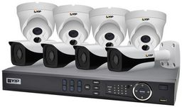 VIP 8 CHANNEL KIT NVR8PROPACK6HD