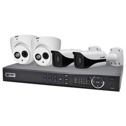 VIP 4 CHANNEL KIT NVR4PROPACK3HD