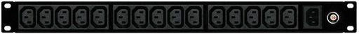 15x IEC C13 OUTLETS PDU - 1RU