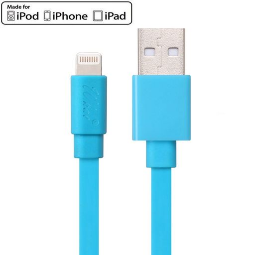 FLAT CABLE LIGHTNING TO USB (APPLE CERTIFIED)
