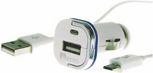 USB CAR CHARGER 2.1A - AERPRO