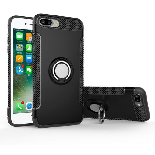 ARMOUR CASE FOR APPLE IPHONE 7 PLUS/8 PLUS WITH RING STAND