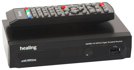 HHT651 DIGITAL TERRESTRIAL RECEIVER MPEG4