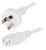POWER LEAD IEC C13 - WHITE