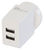 DUAL USB AC CHARGER 3.4A AERPRO