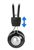 HEADSET WITH INLINE MIC - 2X 3.5mm PLUGS