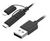 USB 2.0 TO MICRO USB/LIGHTING/USB TYPE-C
