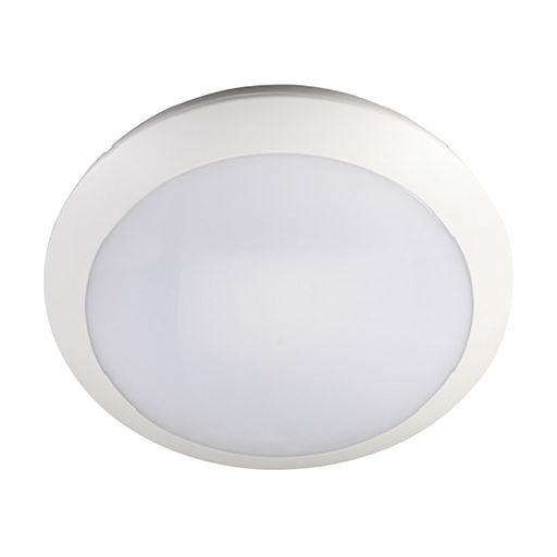 16W LED OYSTER LIGHT 300mmØ - INTELLIGENT