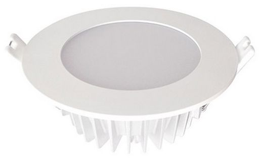 13W DIMMABLE LED DOWN LIGHT 110mmØ - COLOUR TEMPERATURE SWITCH