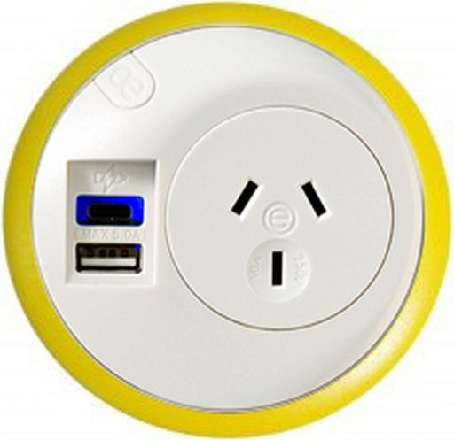 ELSAFE PIXEL-8 AC + USB - IN COLOUR