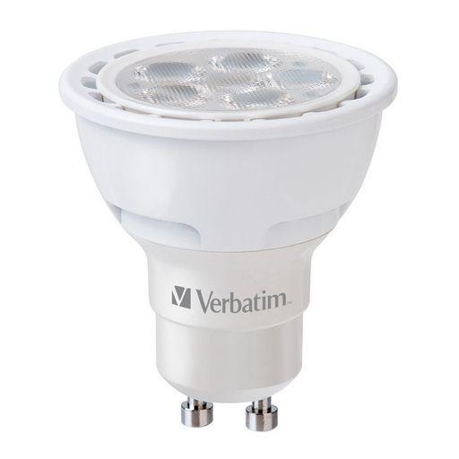 LED GU10 NON DIMMABLE- VERBATIM