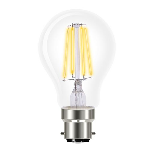 LED FILAMENT CLASSIC A CLEAR DOME DIMMABLE- VERBATIM