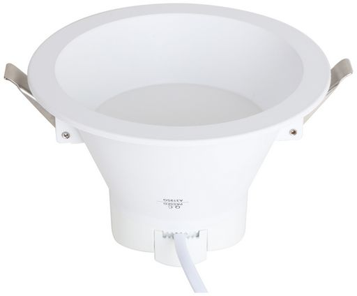 13W DIMMABLE LED DOWN LIGHT 145mmØ - RECESSED - VERBATIM