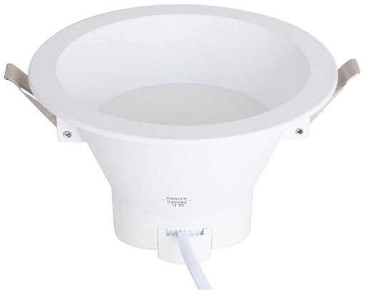 16W DIMMABLE LED DOWN LIGHT 190mmØ - RECESSED - VERBATIM
