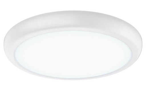 22W LED SWITCHABLE COLOUR TEMPERATURE OYSTER LIGHT 300mmØ