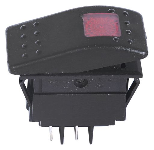 TOGGLE SWITCH WITH INDICATOR LAMP