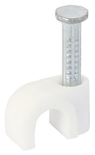 NEW - CABLE CLIPS COAX & POWER CORD