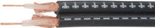 AUDIO STEREO SHIELDED CABLE 2x4mm TWIN