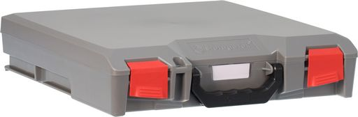 STORAGETEK SMALL ABS CASE GREY - GREY LID