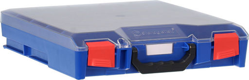 STORAGETEK SMALL ABS CASE BLUE - CLEAR LID