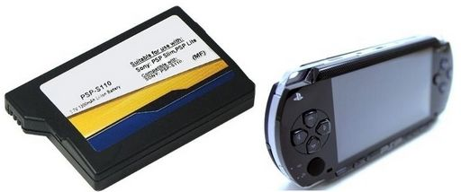 REPLACEMENT BATTERY PSP SLIM/LITE