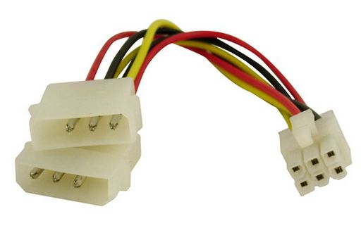 PCI-EXPRESS POWER CABLE 6-PIN