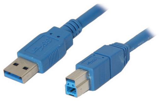 USB 3.0 A MALE TO USB 3.0 B MALE