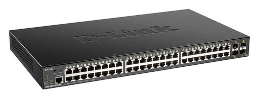 52-PORT GIGABIT SMART MANAGED PoE SWITCH WITH 48 RJ45 AND 4 SFP+ 10G PORTS