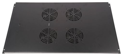FOUR FANS IN A METAL PANEL
