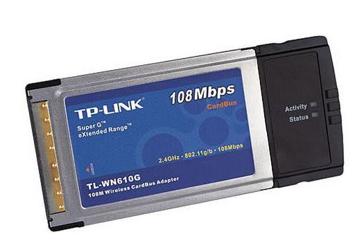 WIFI PCMCIA ADAPTOR WIRELESS G MIMO - TP-LINK
