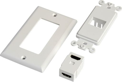 WALL PLATE HDMI - RIGHT ANGLE ADAPTOR